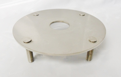 Isolator Plate with clench bolts