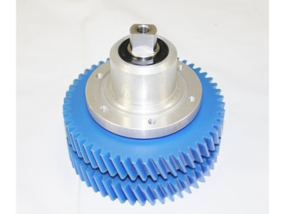 Systemate Style Long Shaft Double Gear Complete Assembly