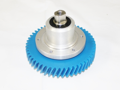 Systemate Style Short Shaft Single Gear Complete Assembly
