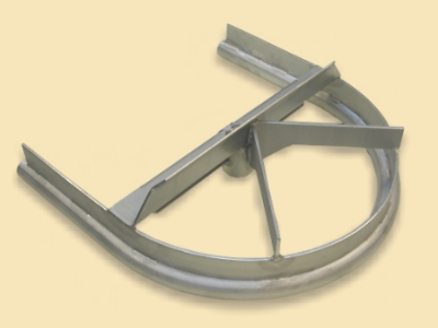 Linco Style Stainless Steel Bend Track