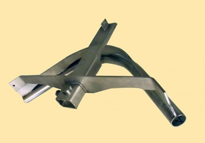 Linco Style Stainless Steel Sani Track Bend 90°