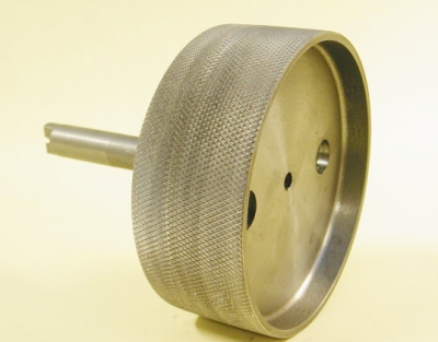 Knurled Belt Pulley