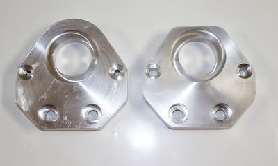 Set: Upper & Lower Spin Wheel Plates
