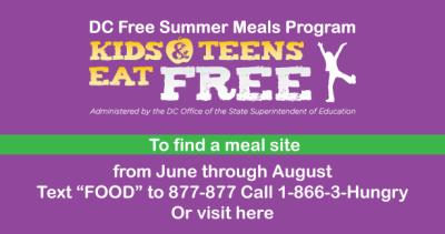 DC Free Meal Program