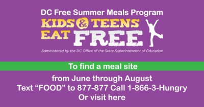 DC Free Meal Program