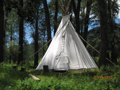 Teepee with Double