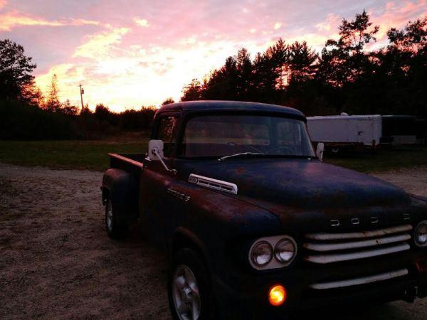 Sunset in good ole Maine