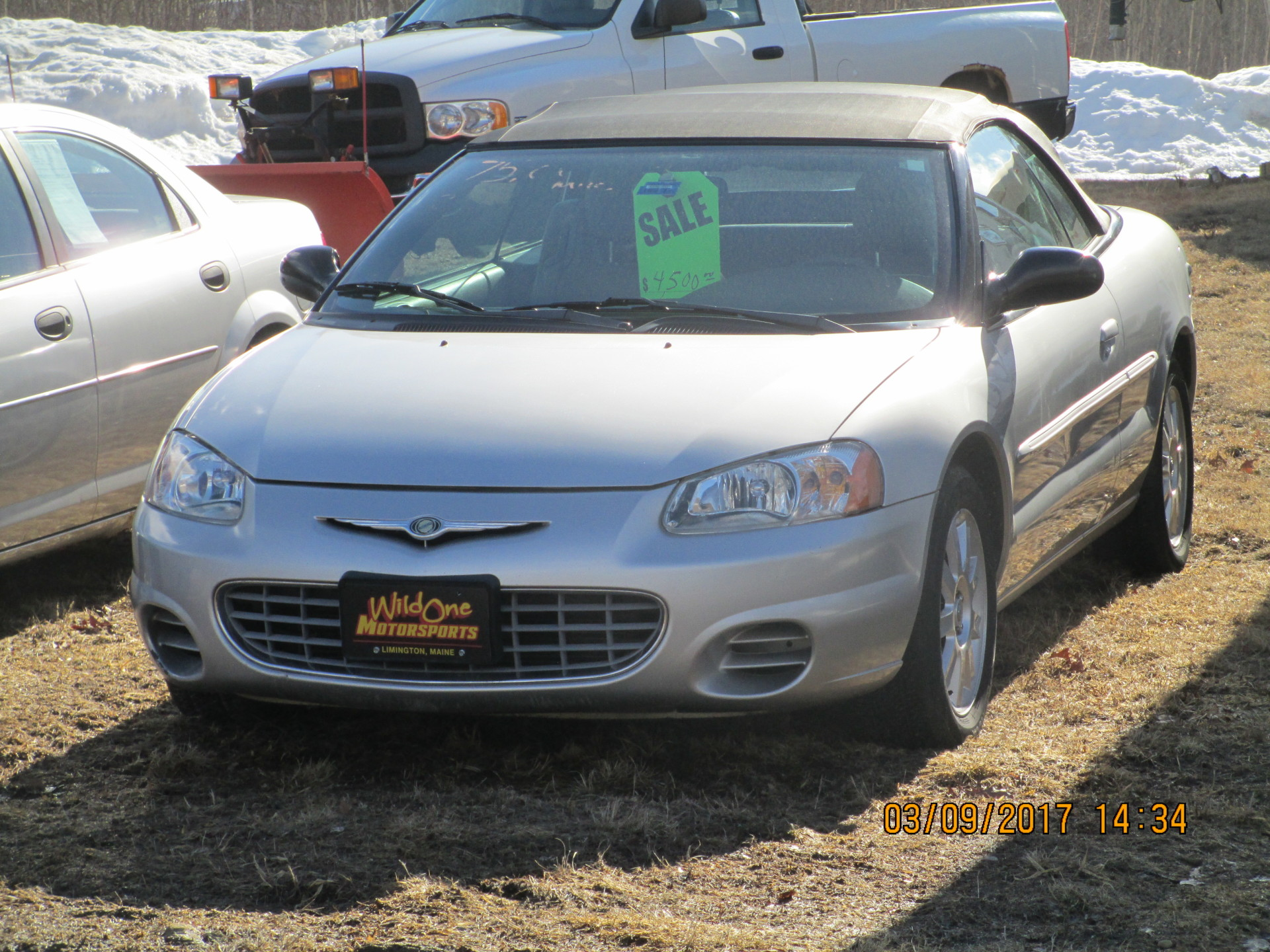 2002 Chrysler Sebring - Silver Convertible