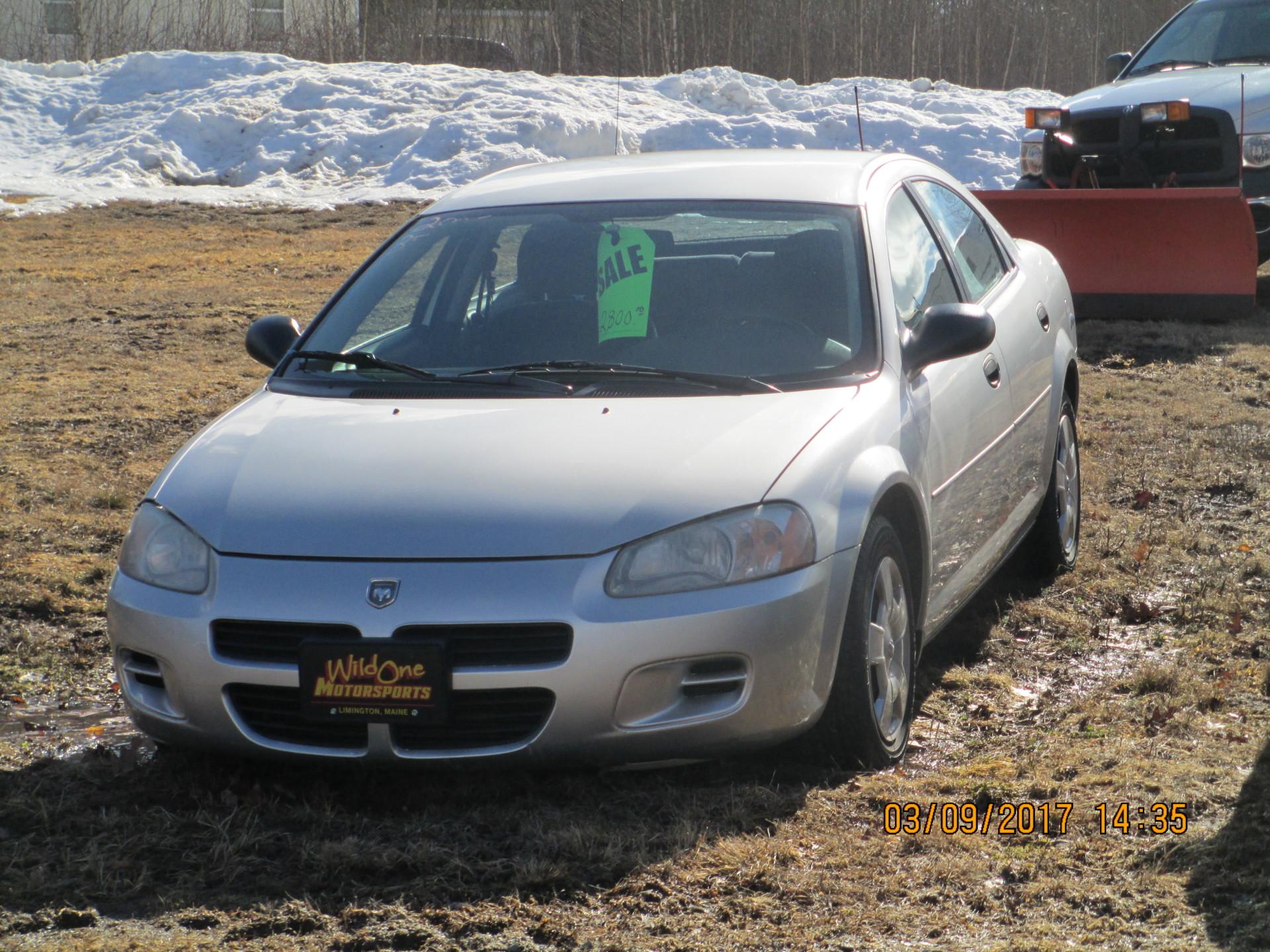 2003 Dodge Stratus - Silver