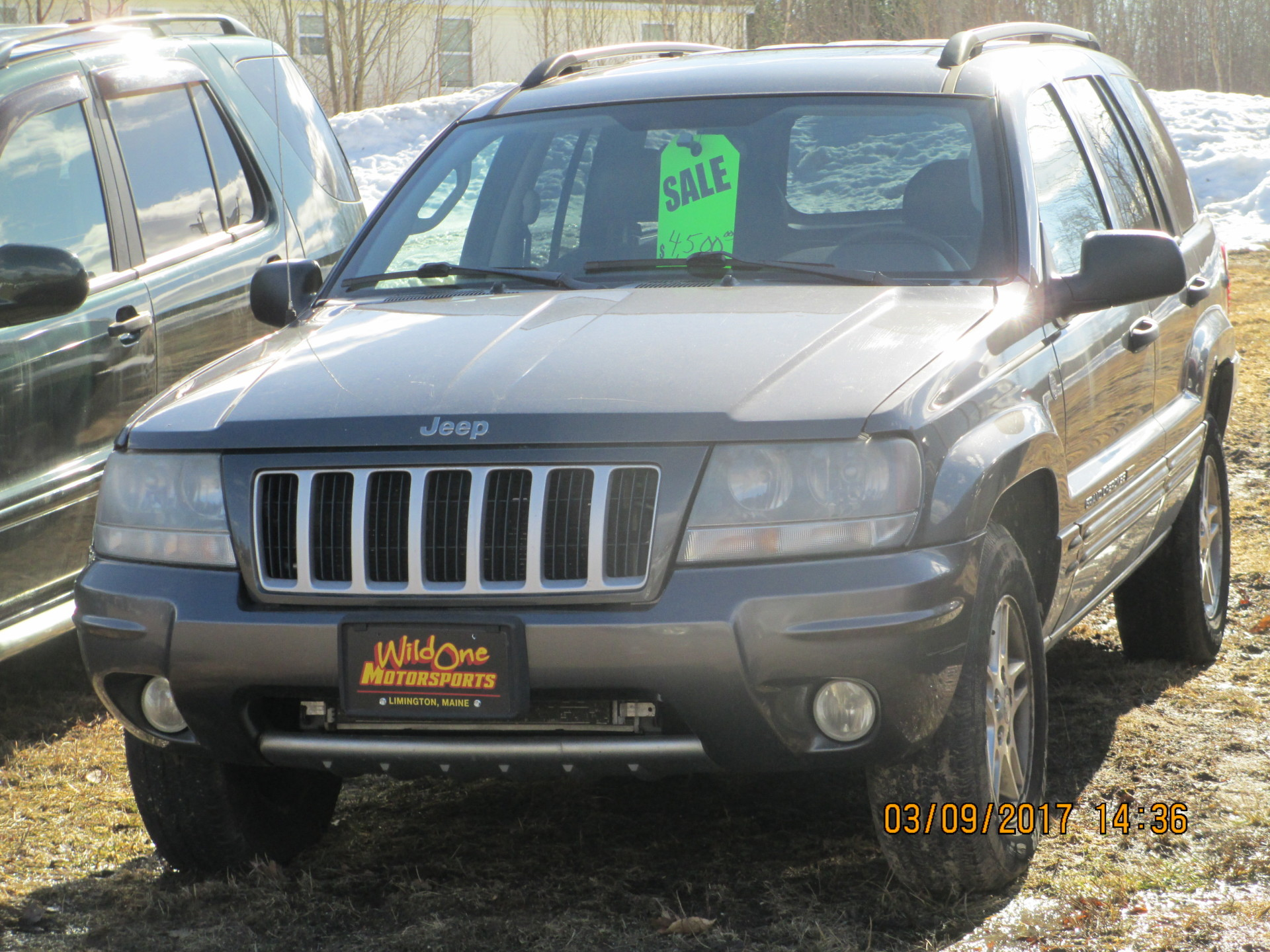 2004 Jeep Cherokee - Gray
