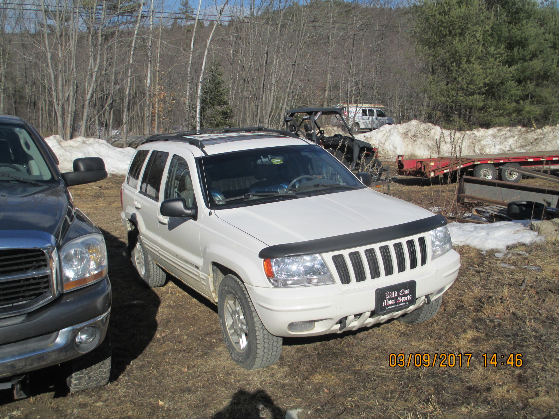 2000 Jeep Grand Cherokee Limited - White