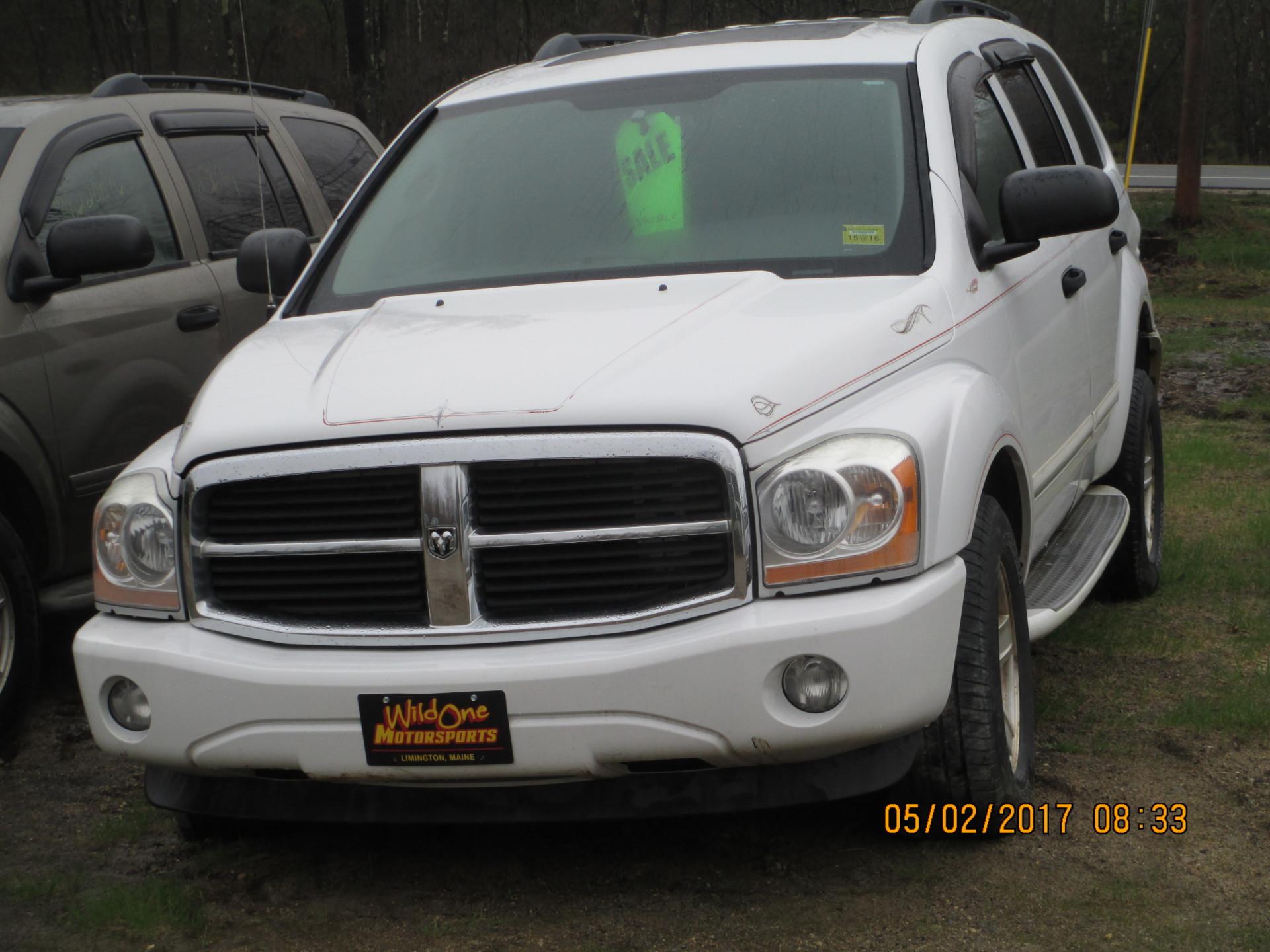 2004 Dodge Durango - White