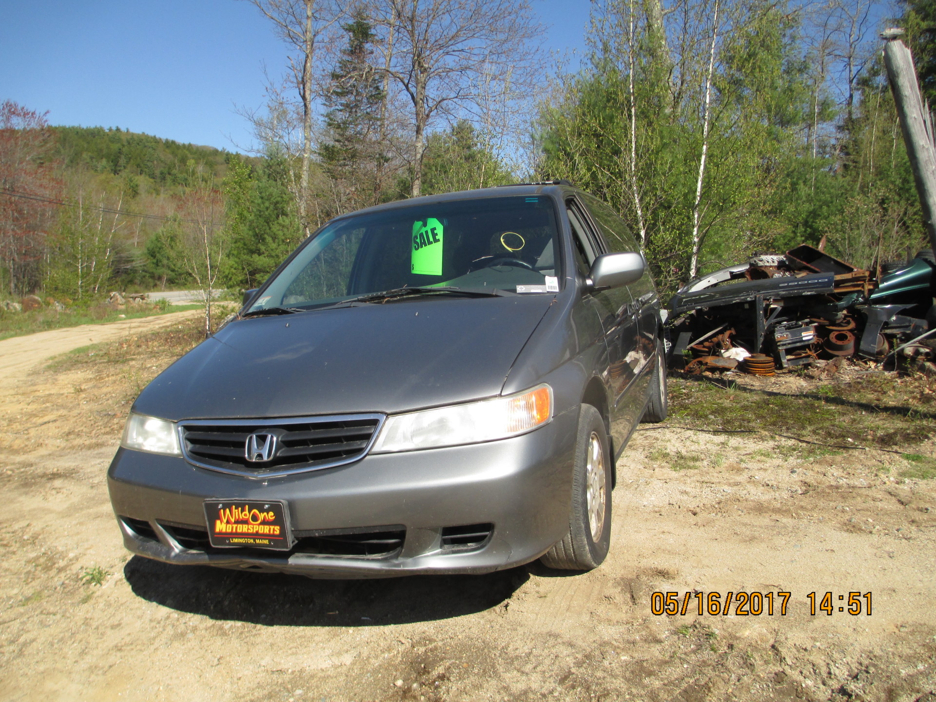 2002 Honda Odyssey - Gray