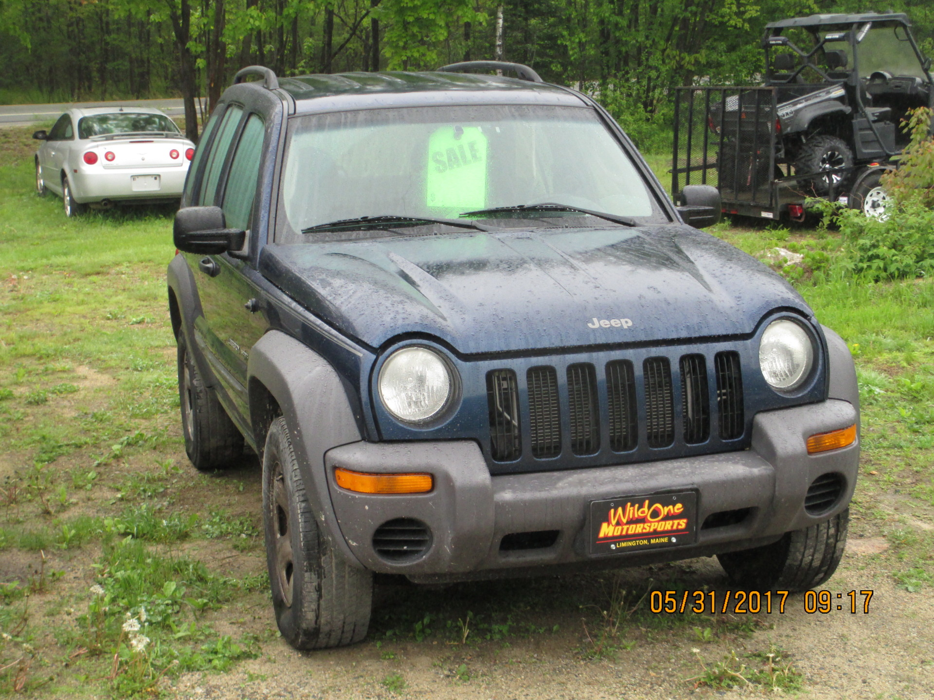 2003 Jeep Liberty Sport - Blue