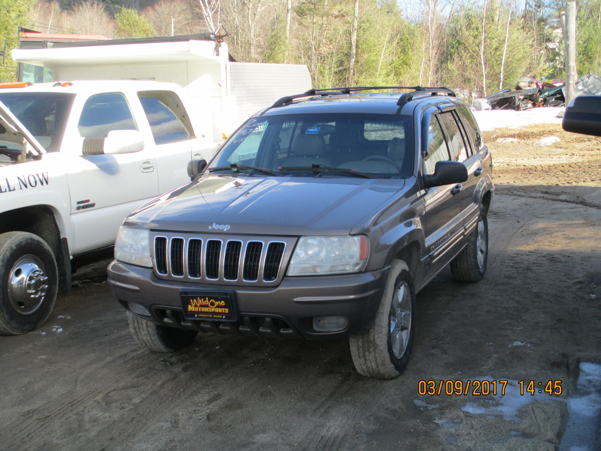 2001 Jeep Grand Cherokee - Tan