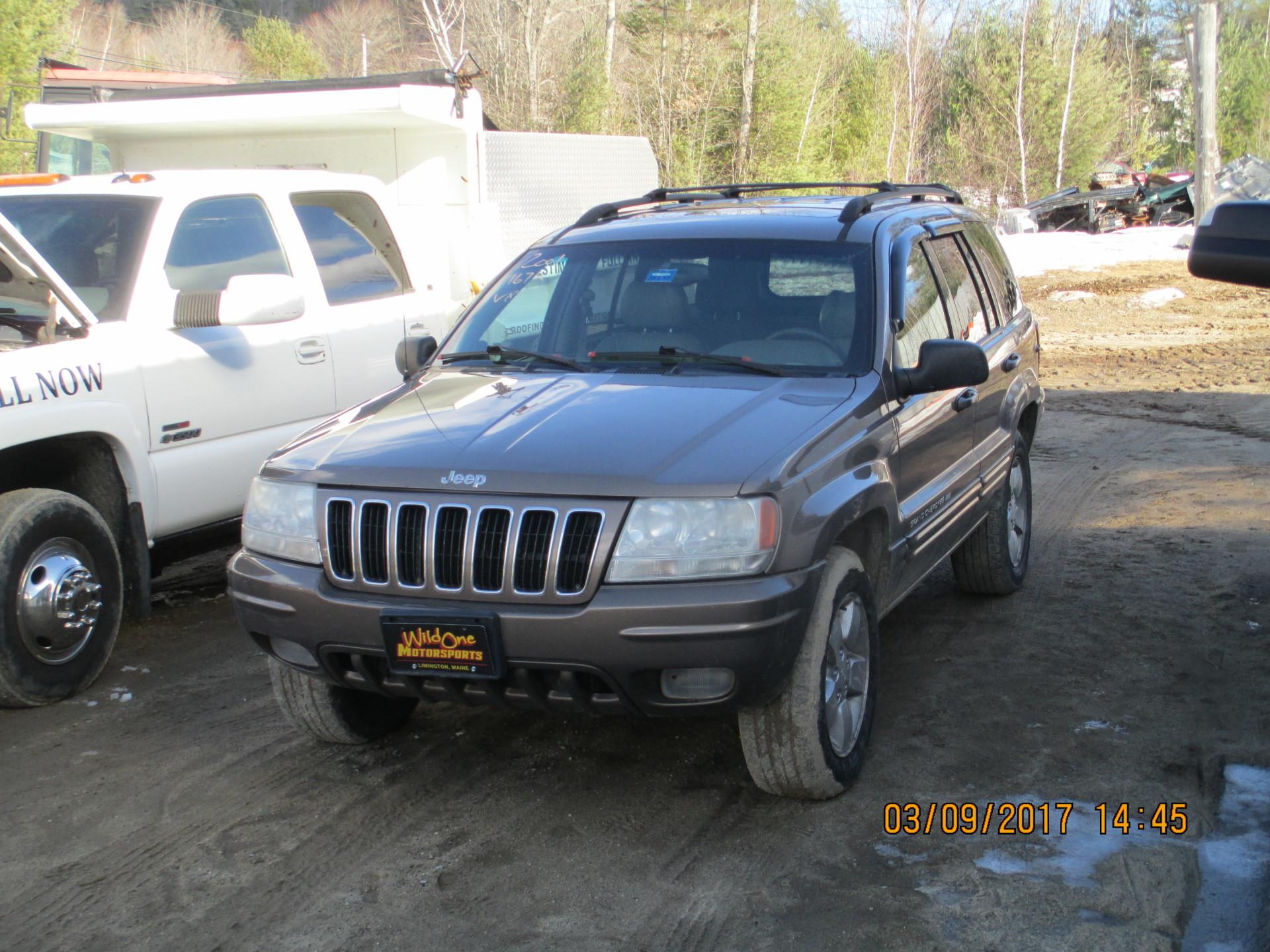 2001 Jeep Grand Cherokee - Tan