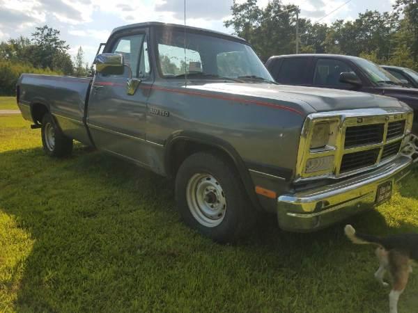 1993 Dodge D150 2WD
