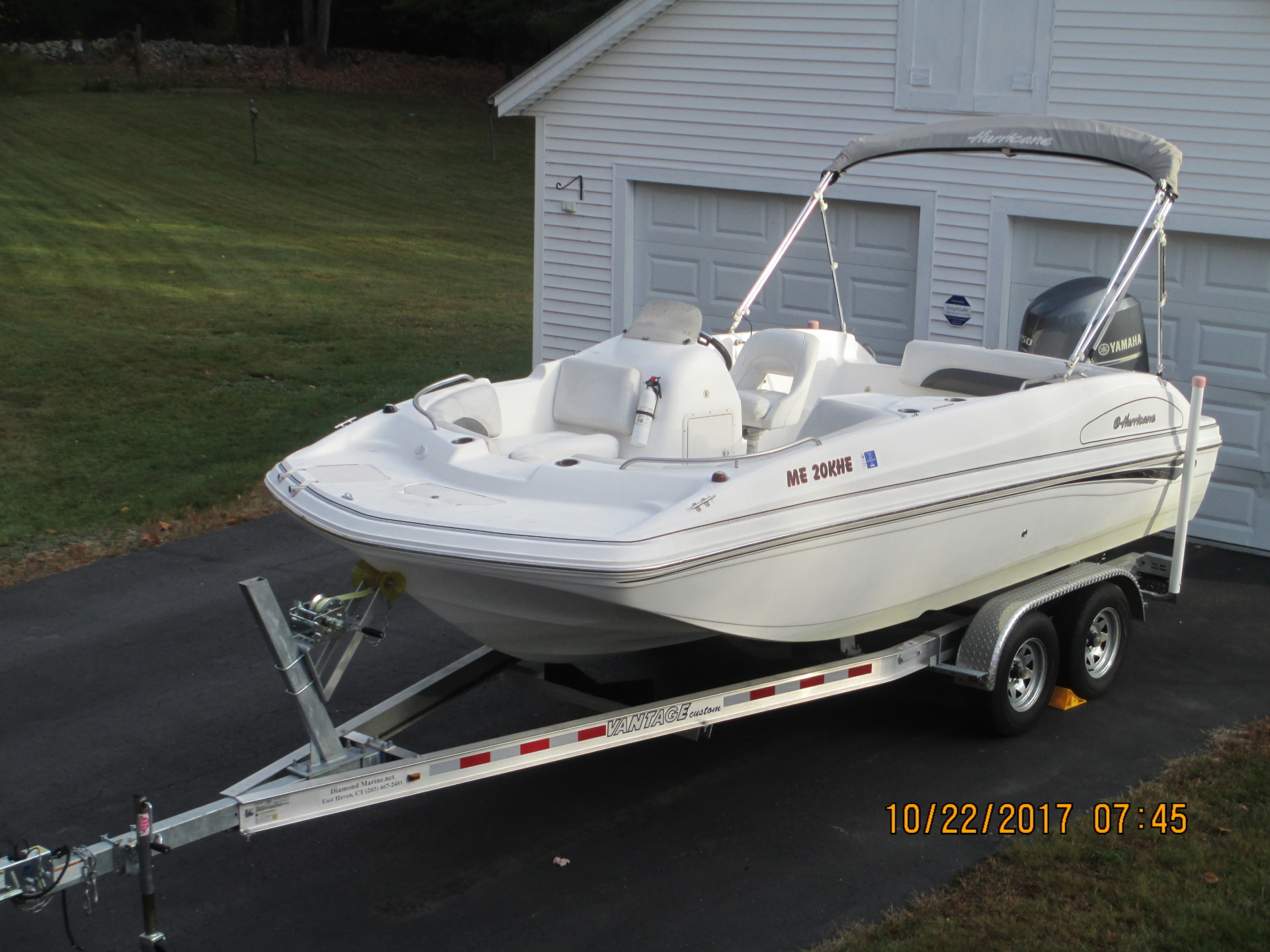 2013 Hurricane SS188 with 150 hp Yamaha