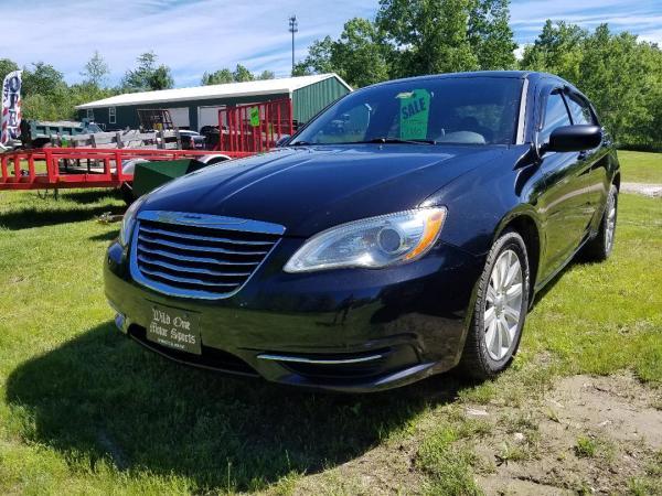 2012 Chrysler 200 - Black