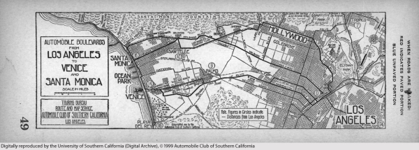 1914 AAA Map