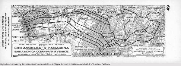1926 AAA Map