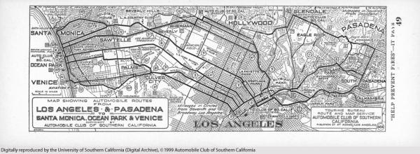 1919 AAA Map