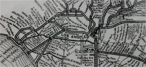 c. 1920-1924 Early Rail Lines