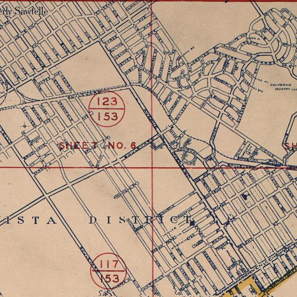 c. 1939 Works Progress Administration Map