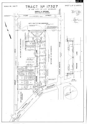 Provon Lane Tract 17327 (1952)