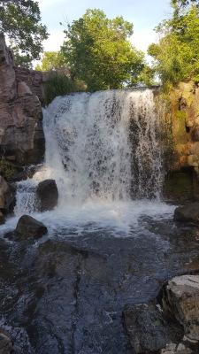 Winnewissa Falls, Pipestone, Minnesota