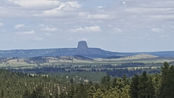 Devil's Tower at a Distance