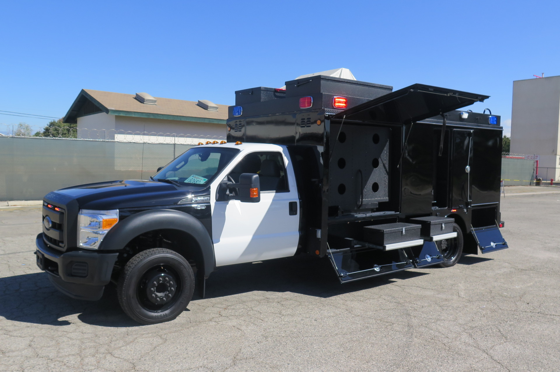Swat Command Vehicle