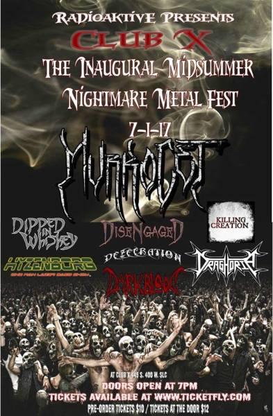 Midsummers Nightmare Metalfest @ Club X SLC