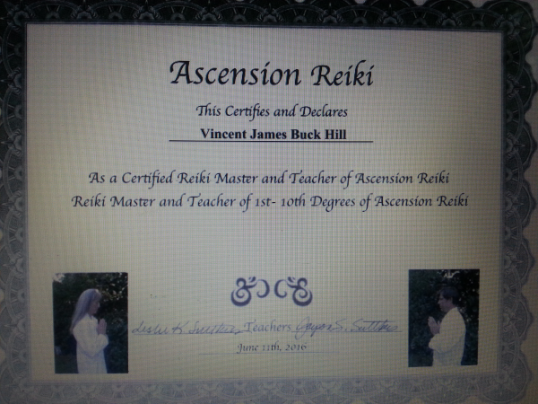 reiki, certification, Ascension Reiki