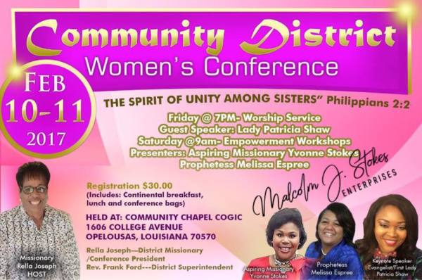 Community District Women's Conference