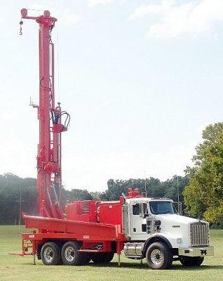King Water Wells Well Drilling Rig