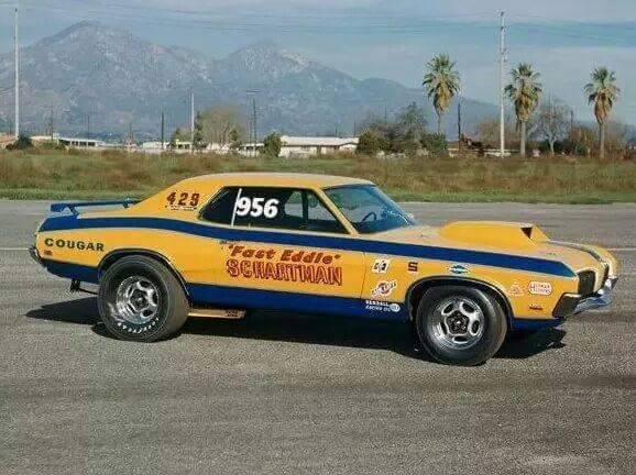 Eddie Schartman Boss 429 Cougar
