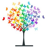 The Butterfly Tree or Transformation within our Life Journey