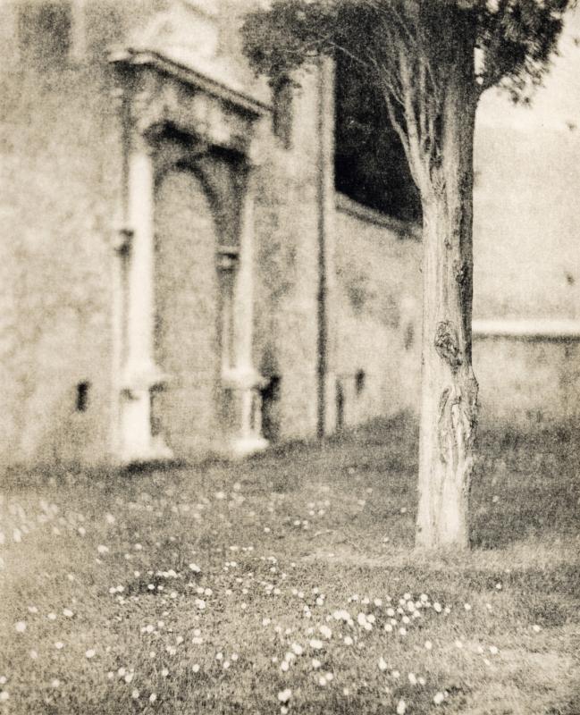 Italy, large format photography, sepia, analog photography, Italian landscapes, Italian cityscapes, Domenico Foschi, ravenna, loggetta lombardesca