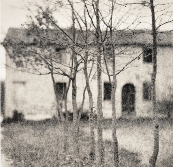 Italy, large format photography, sepia, analog photography, Italian landscapes, Italian cityscapes, Domenico Foschi, ravenna, Italian farmhouse
