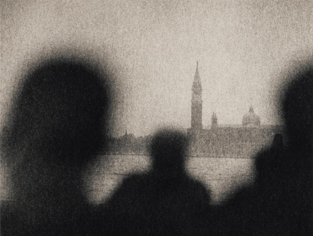 Italy, large format photography, sepia, analog photography, Italian landscapes, Italian cityscapes, Domenico Foschi, Venice, Venezia, Waiting for the ferry