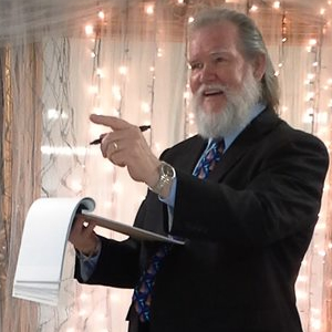 Donatelli as Wedding Emcee in Chattanooga