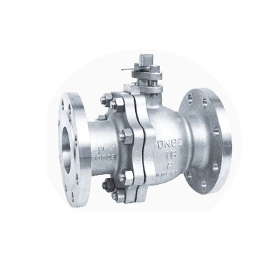 2-piece flanged gloating ball valves