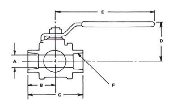 stainless steel ball valve dwg