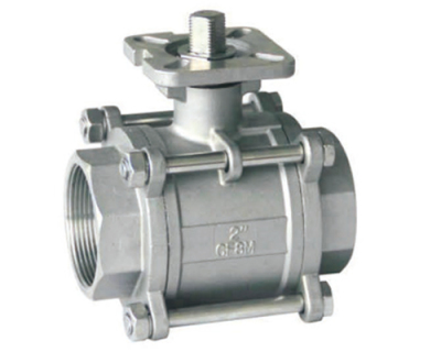 3-Piece Thread Ball Valve