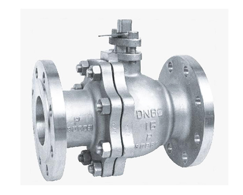 2-piece flanged floting ball valve