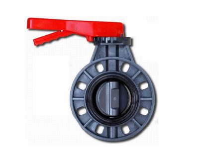 pvc butterfly valve