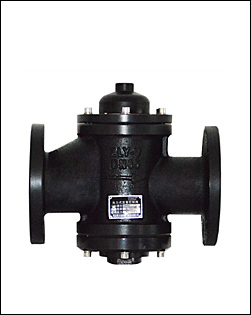 self atuated flow control valve