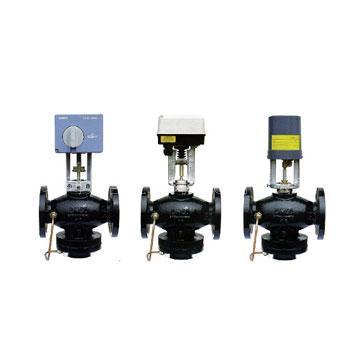 Dynamic balance of electric control valve
