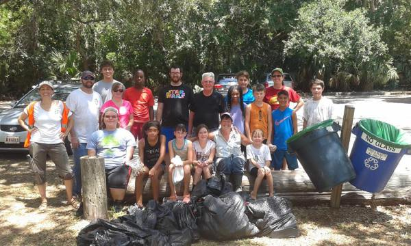 SSI Marsh Clean up 2016
